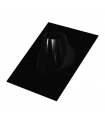Solin 30 à 45° plomb & noir - DIAM 100